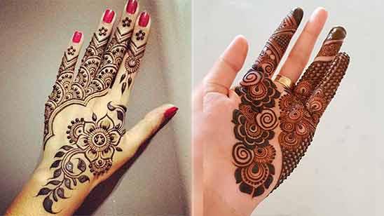 Arabic Style Mehandi Design