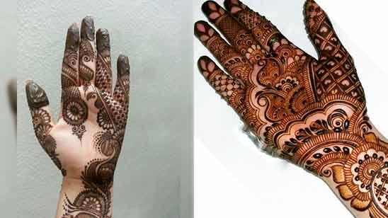 Arabic Style Mehandi