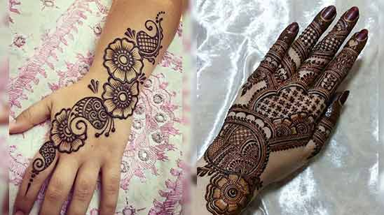 Arabic Style Mehendi
