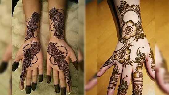 Arabic Stylish Mehandi Design Image