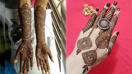 Arabic Stylish Mehendi Design Image