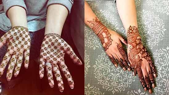 Arabic Stylish Mehendi Design