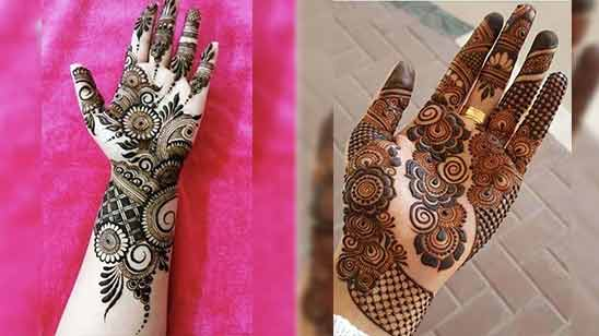 Arabic Stylish Mehndi Design Image