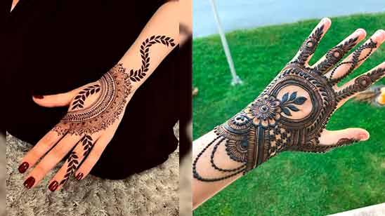 Arabic Stylish Mehndi Design