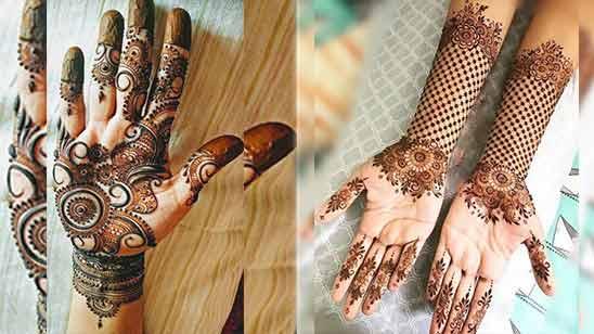 Best Indo Arabic Mehendi Design