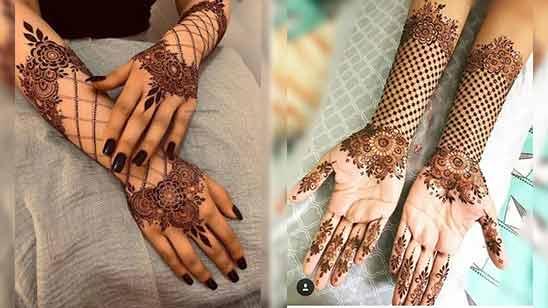 Best Indo Arabic Mehndi Design