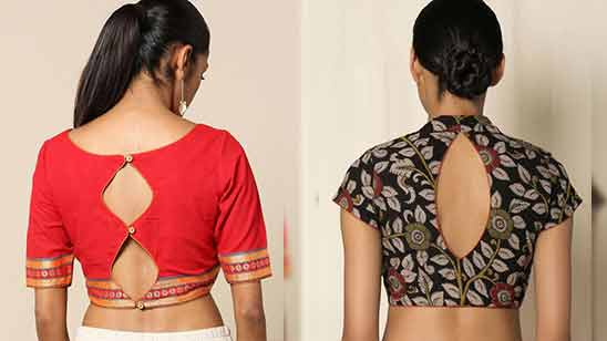 Blouse Boat Neck Design 2020