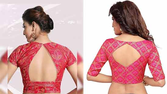 Blouse Boat Neck Design Image