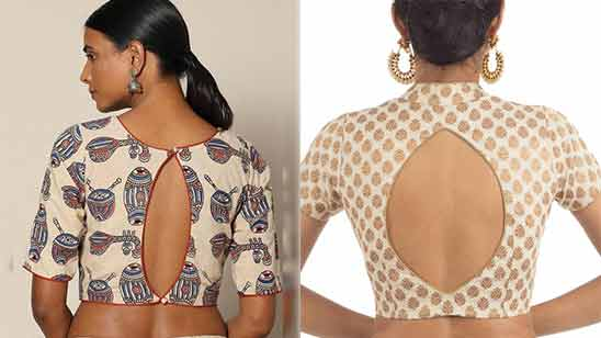 Blouse Boat Neck Design Latest