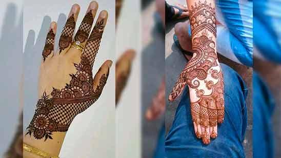 Easy Arabic Mehndi Design