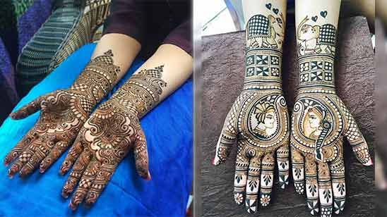 Full Hand Arabic Mehendi Design