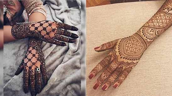 Full Hand Arabic Mehndi