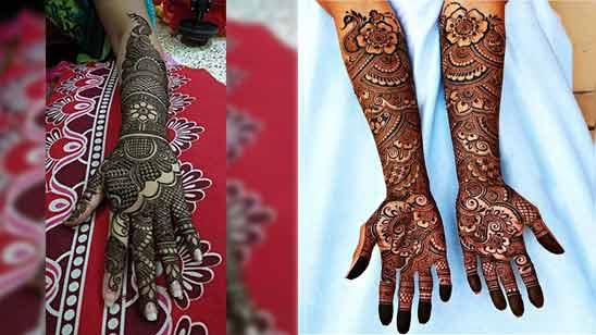 Full Hand Mehndi Design 2020