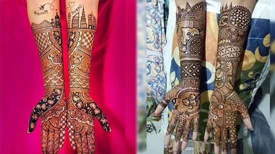 Full Hand Mehndi Design Arabic