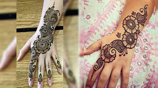 Full Hand Mehndi Designs Simple and Easy