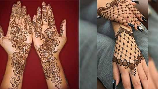 Indo Arabic Mehndi