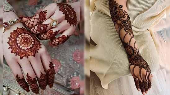 Indo Arabic Mehndi Design