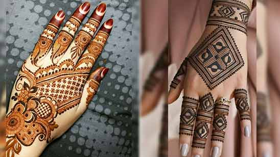 Indo Arabic Mehndi Design for Front Side 2020