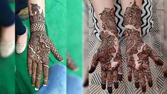 Latest Arabic Mehendi Design