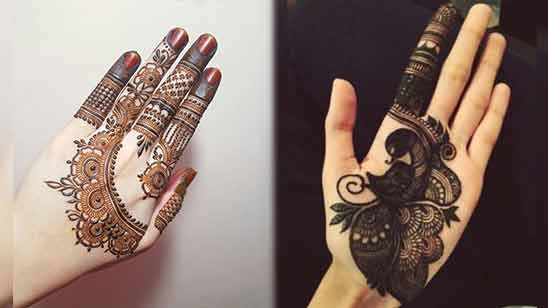 Latest Arabic Mehendi Designs for Hands 2020