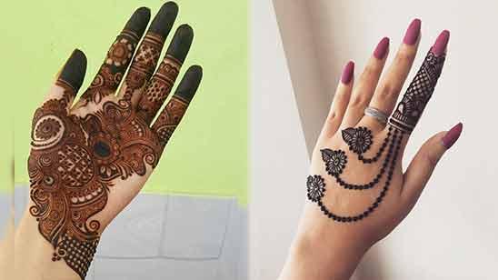 Latest Arabic Mehndi Design for Hand 2020