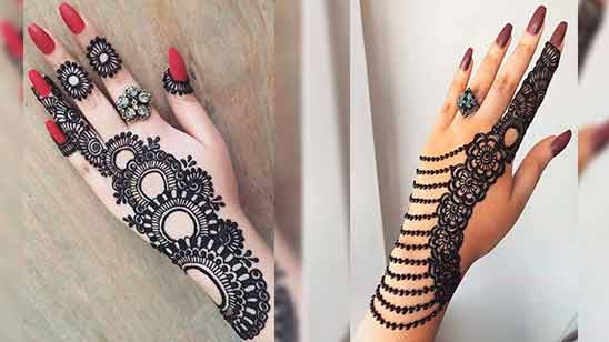 Latest Arabic Mehndi Designs for Hands 2020