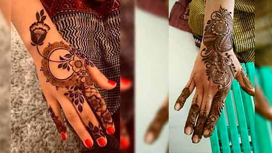 Mehendi Design Indo Arabic