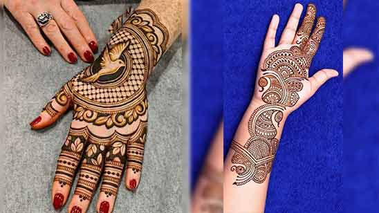 Mehendi Designs for Hands Latest