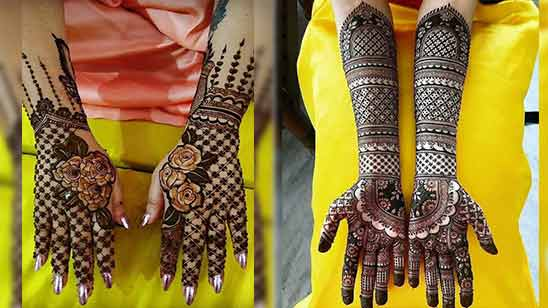 Mehndi Design Easy And Simple Full Hand