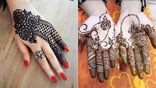 Mehndi Design of Hand