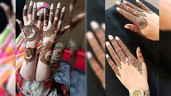 Mehndi Designs Easy and Simple Full Hand