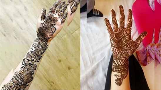 Stylish Arabic Mehandi Design Image