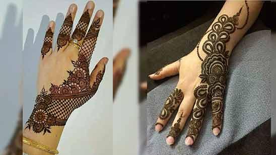 Stylish Arabic Mehandi Design