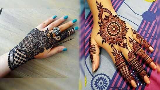 Stylish Arabic Mehendi Design