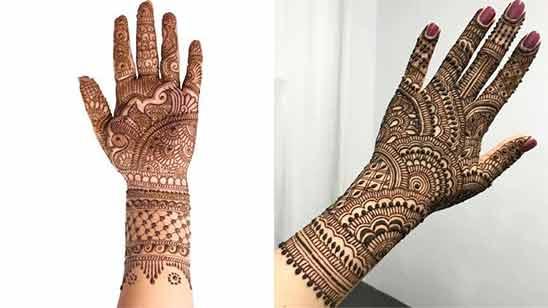 Stylish Arabic Mehndi Design Image