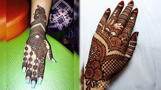 Stylish Arabic Mehndi Design