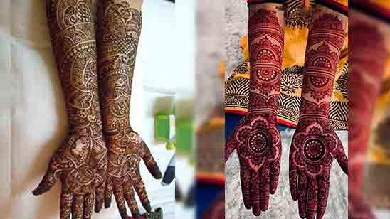 Arabic Bridal Mehndi Designs for Full Hands 2020