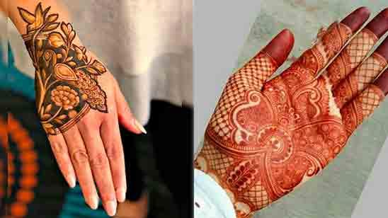 Best Mehndi Finger Designs