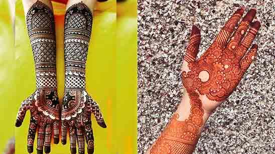 Dulhan Mehndi Design Easy