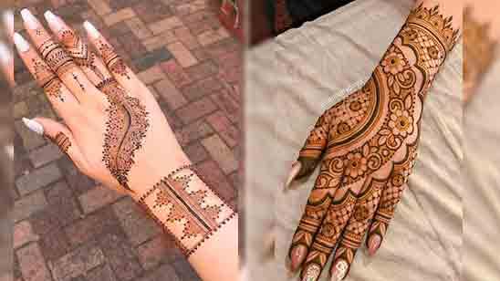 Dulhan Mehndi Design Image