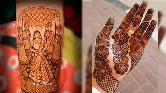 Dulhan Mehndi Design New