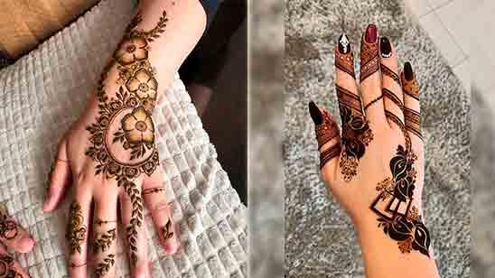 Dulhan Mehndi Design Simple