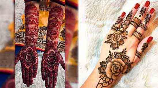 Dulhan Mehndi Designs for Hand