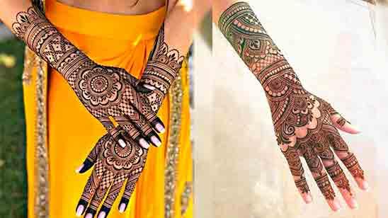 Easy Mehndi Design Full Hand