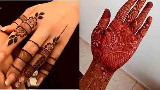 Finger Mehndi Design 2020 New