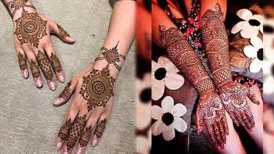 Full Back Hand Mehndi Designs