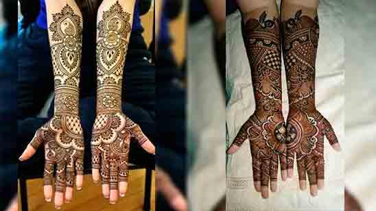 Full Hand Mehndi Designs Pakistani
