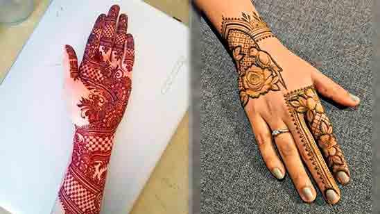 Latest Arabic Mehndi Designs for Fingers