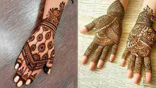 Latest Arabic Mehndi Designs for Hands 2020