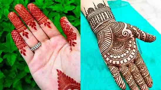 Latest Finger Mehndi Design 2020